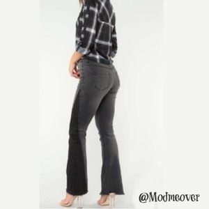 NEW Black High-Rise Flare Jeans
